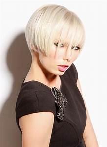 Coupe Femme Carré : coupe de cheveux courts carre court et original coiffure ~ Melissatoandfro.com Idées de Décoration