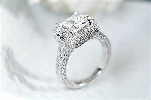 vanna ktm for bella lucer 394ctw platinum plated With bella luce wedding rings