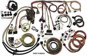 1957 Chevrolet Passenger Cars Restomod Wiring System