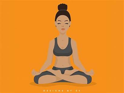 Meditation Es Dribbble