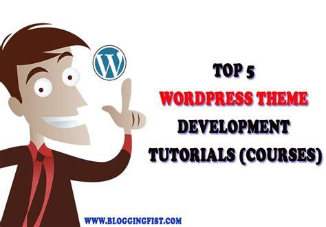 learn wordpress top  wordpress theme development tutorials