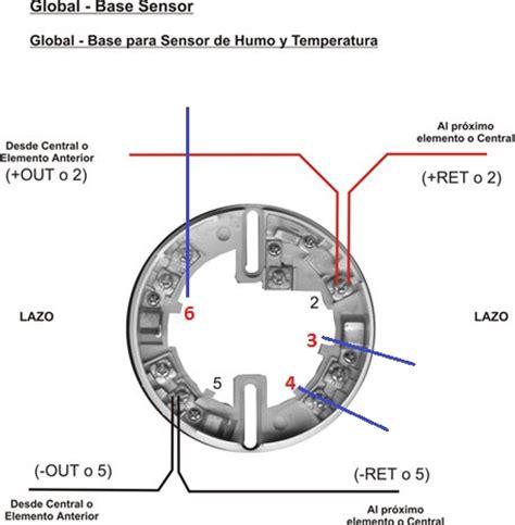 diagrama sensor de humo 4 hilos yoreparo