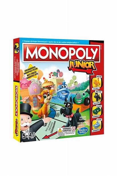 Monopoly Junior Hasbro Ellos Ja