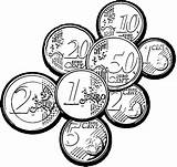 Coloring Coins Coin Nice Pages sketch template