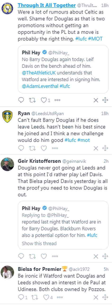 'Gutted' Leeds United fans react as Barry Douglas linked ...