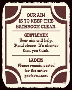 bathroom signs funny printable bathroom design ideas 2017