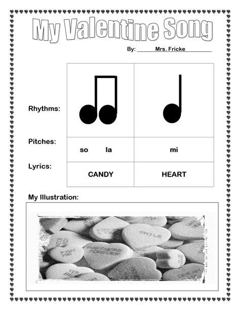 the sweetest melody s day rhythm activity ta