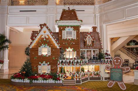 Disney Parks Gingerbread Houses