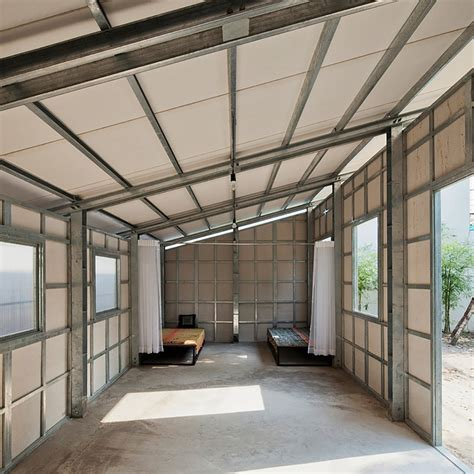 interior structure of house prefab tiny house with steel lattice structure assembles