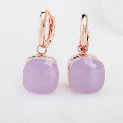 pomellato replica replica pomellato inspired nudo earrings in pink gold with