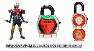 Kamen Rider Gaim - Lock Seed 02 Ichigo by Kamen-Riders on ...
