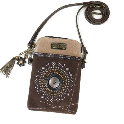 phone purse charming chala buttons n bling cell phone purse mini