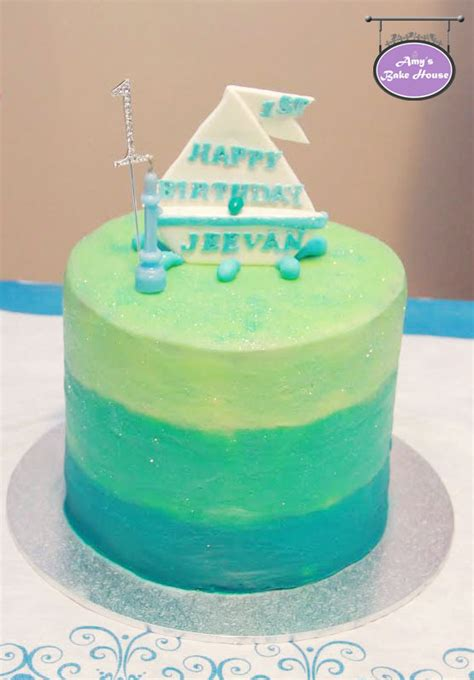blue velvet ombre birthday cake amys bake house