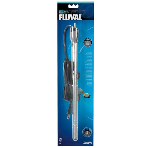 fluval m300 submersible glass aquarium heater 300 watts