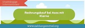 Kauf Auf Rechnung Klarna : bei asos mit klarna auf rechnung bezahlen so geht 39 s ~ Themetempest.com Abrechnung