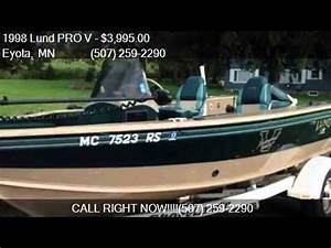 1998 Lund PRO V Tournament 1775 for sale in Eyota, MN ...