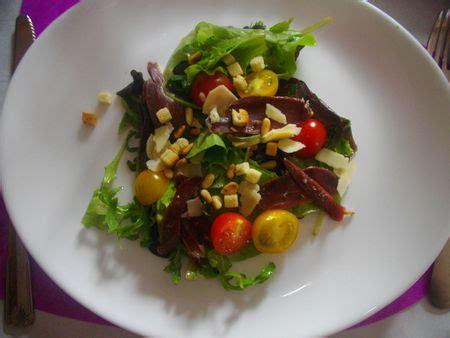 pignon cuisine salade mesclun magret pignon cuisine et déco de laeti