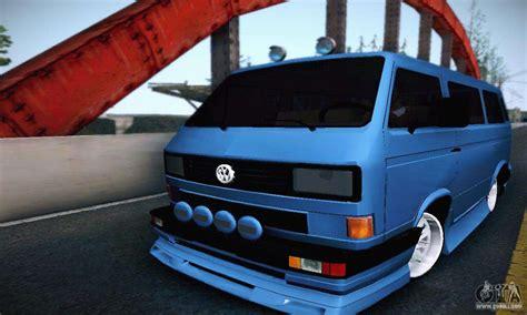 volkswagen transporter t2 tuning for gta san andreas