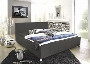 Bett 140 X 190 : sam design bett 140 x 200 cm grau kira auf lager ~ Bigdaddyawards.com Haus und Dekorationen