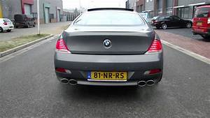 Bmw 645ci V8 Double Exhaust System Nice Sound By