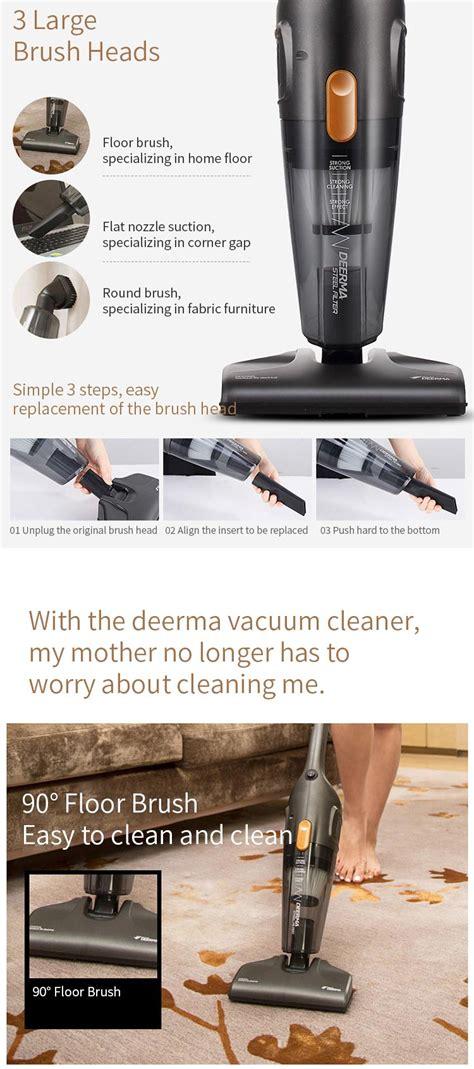 xiaomi deerma dxc household mini vacuum cleaner gearvita