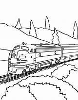 Train Coloring Pages Wagon Printable Getcolorings Print Reliable Speed sketch template