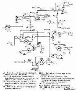 100 W Linear For 432 Mhz - Basic Circuit