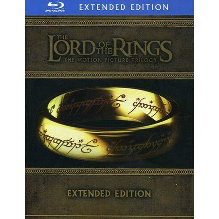 The Lord Of The Rings Trilogy (bluray) (extended Edition