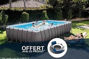 Grande Piscine Tubulaire : piscine tubulaire intex grande ultra silver rectangulaire conseil ~ Mglfilm.com Idées de Décoration
