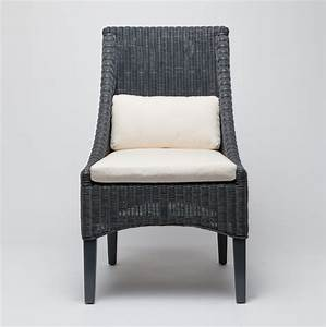 MacDonald Wicker Dining Chair - Mecox Gardens