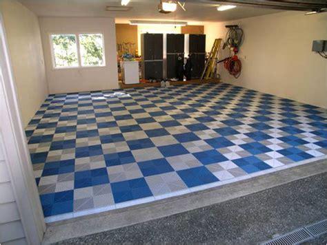 pvc fliesen garage tecto san 174 pp kunststoff bodenplatten