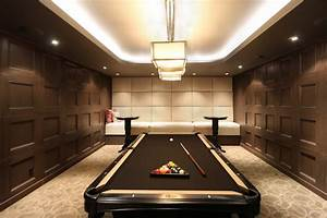 Billiards Space Interior Design Suggestions And Ideas ...