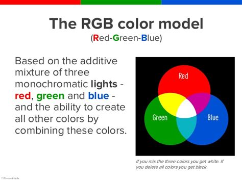 rgb colors  composed