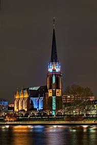 Three Kings Church Frankfurt Germany