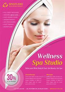 Beauty and Spa Poster Template V14 by rapidgraf GraphicRiver