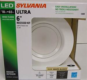 Sylvania ultra led inch downlight recessed kit
