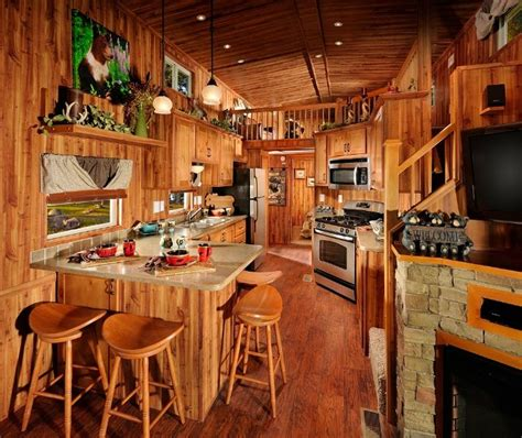 pictures of small homes interior park model tiny house interior with stairs loft and bedroom tiny house pinterest tiny