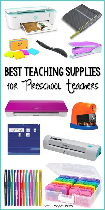 best teaching supplies for preschool teachers pre k pages 426 | teaching supplies long PIN