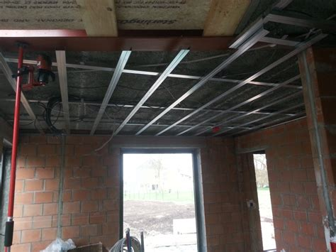 plafond gyproc metal stud pin metal stud plafond on
