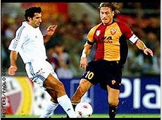 Real Madrid 11 AS Roma 200102 Champions League