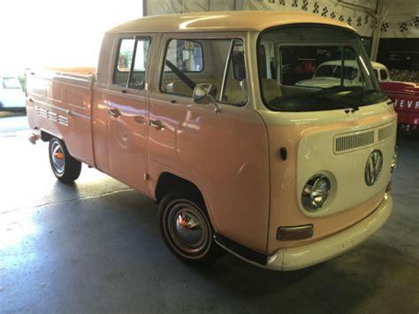Vw 4 Door Truck by 1968 Volkswagen Dual Cab 3 Door Up Truck Transporter