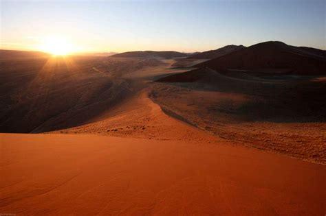 sunrise dune namibia world effect blog