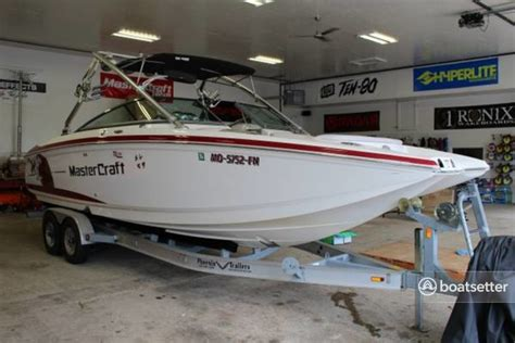 Boatsetter Company by Rent A 2007 28 Ft Mastercraft Boat Co X80 Sts In Lincoln