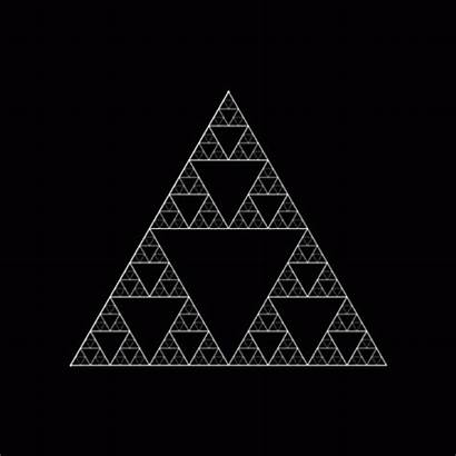 Gifs Fractal Triangles Triangle Loop Hidden Animated