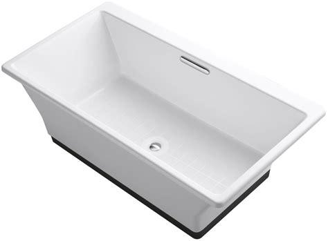 Kohler Kelston Freestanding Tub Filler by Kohler K 894 F63 0 White Reve 66 Quot Free Standing Cast Iron