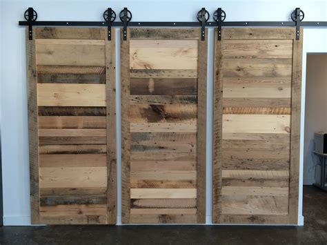 Reclaimed Sliding Barn Doors