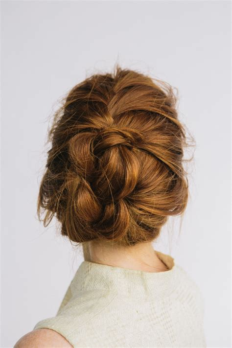 how to braided bun with l oreal paris advanced hairstyle