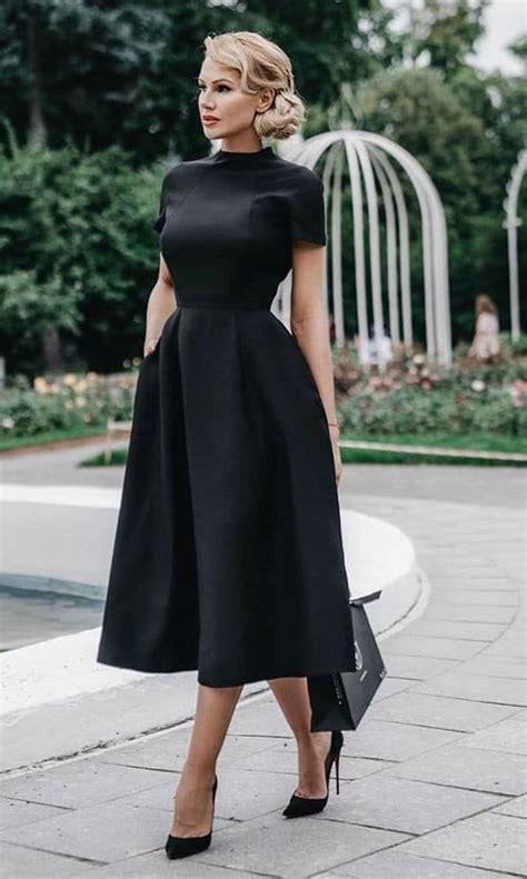 Black dress ideas for funeral on Stylevore | Modest ...