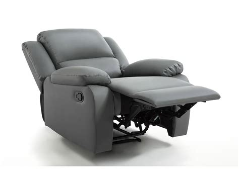 canape relaxation pas cher fauteuil relaxation 1 place simili cuir detente