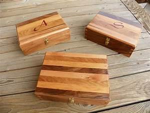 Handmade Dovetailed Box Using Four Wood Types by Elegant